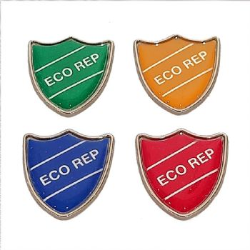 ECO REP shield badge